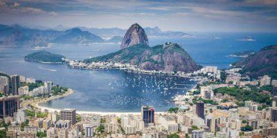 Exotické dovolenky v Brazílii.