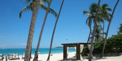 Exotické dovolenky v Karibiku.