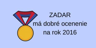 Zadar, najžiadanejšia destinácia Európy 2016