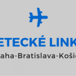 Viac letov na linke  Praha-Bratislava