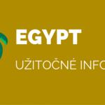 Egypt – užitočné informácie
