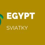 Sviatky v Egypte