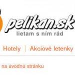 Letenky od spoločnosti Pelikán